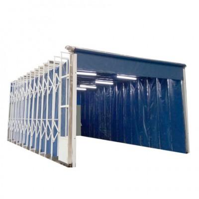 移动伸缩喷漆房性能结构特点 配置报价单
