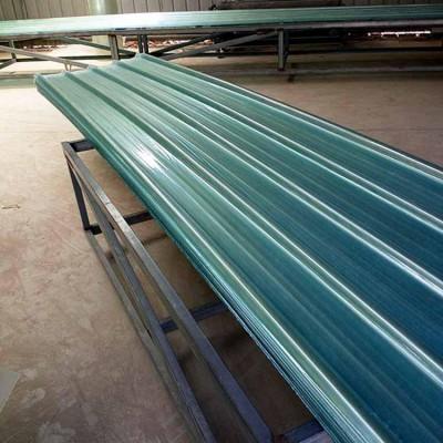 蓝色采光板透明瓦-河南多凯采光板厂家