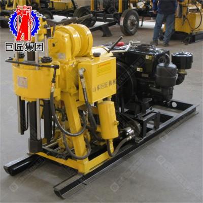 岩心钻机工作 全液压钻机HZ-130地质勘探取芯
