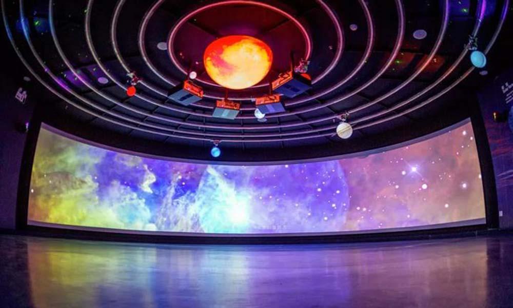 光影餐厅 光影酒店 投影机 安徽视创 可提供安装