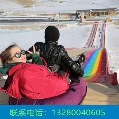 治愈烦躁的心 七色彩虹滑道 四季旱滑生产厂家