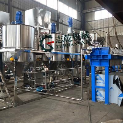 食用油脂厂精炼设备 核桃茶籽精炼油设备