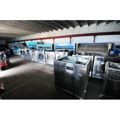 滨州出售二手100公斤水洗机二手5辊烫平机去年机器