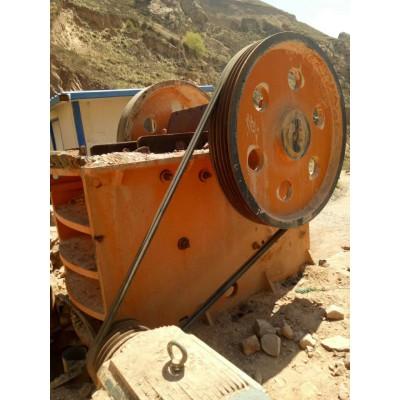 二手整套日产1200吨砂石料生产线石料破碎机碎石机
