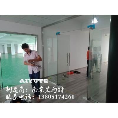 南京玻璃门安装、自动门安装、电动门定制