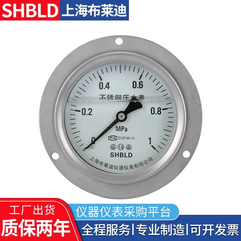 布莱迪YTT-150 YTT-150A差动远传压力表