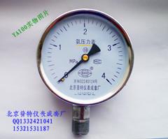 YA100氨气压力表