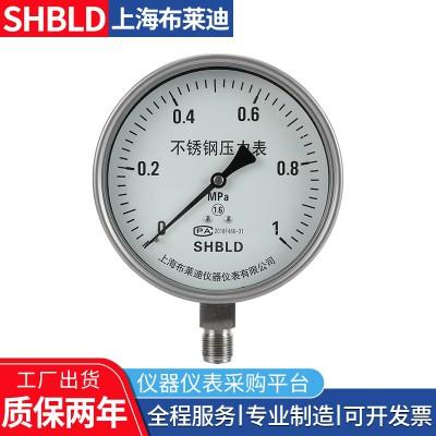 上海布莱迪Y-200,Y-250普通一般压力表气压表