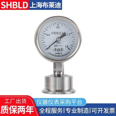 布莱迪Y-100BF/Z/MFLBJ316全不锈钢隔膜压力表