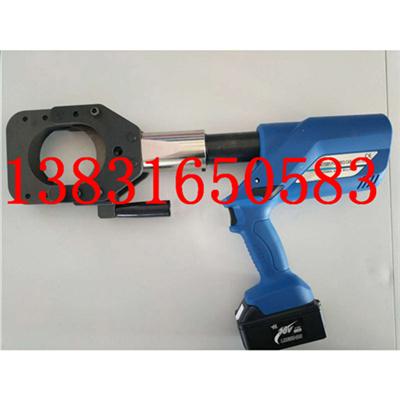EC-45电动液压切刀充电式钢棒切刀铜铝电缆剪刀