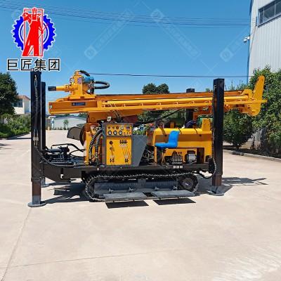 巨匠气动水井钻机JCD-350米气动打井机钻深水井