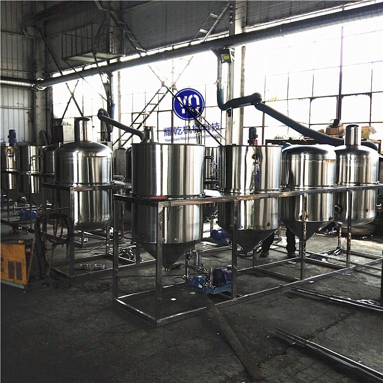 植物油压榨精炼生产线 茶籽油精炼全套设备 油脂精炼机