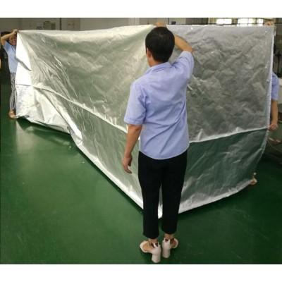 广州五面立体抽真空铝箔袋,机械出口用铝箔包装袋,小批量定制