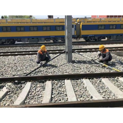机械式整杆器铁路接触网正干器支柱限界调杆器