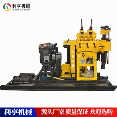 液压水井钻机 200米深井打井钻机 百米岩石钻井机