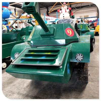 亲子户外乐园扩展设备 四季风景游乐坦克车 滑雪场专用雪地坦克