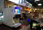 现调可乐机怎么使用大学食堂可乐机可乐糖浆