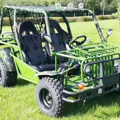 户外游乐项目ATVE卡丁车 亲子游乐设备双人卡丁车