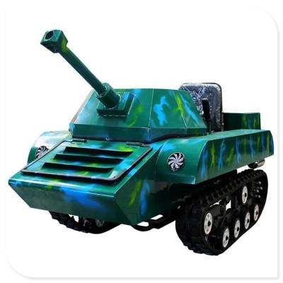 游乐坦克车 油电混合坦克车 一比一仿真外形坦克车