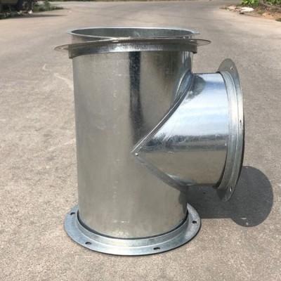 广东镀锌弯头,三通螺旋风管工业排气设备生产加工