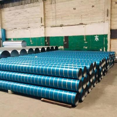 承接广东揭阳车间通风排气管道 不锈钢螺旋风管