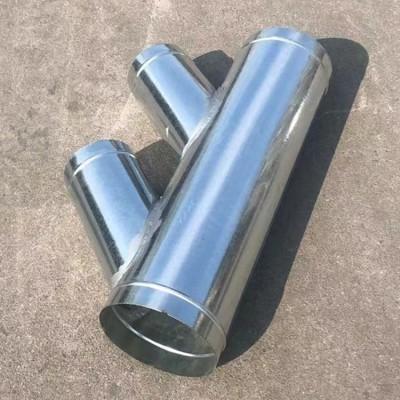 镀锌圆管 佛山工业管道Φ750mm螺旋风管厂家