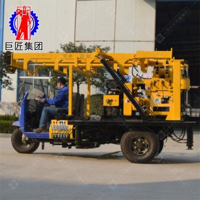 三轮车载式液压岩芯取样钻机XYC-200A型移动方便游走乡间