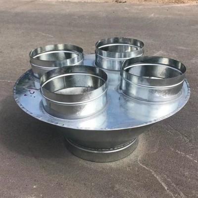 广州风管加工厂专业加工螺旋风管Φ850mm厂家