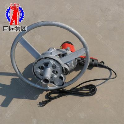 SJD-2A便携式电动打井机 便携式圆盘打井机 家用水井钻机