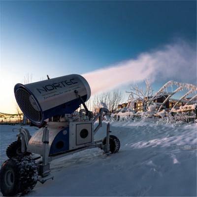 国产大型手机遥控人工造雪机 质量好品牌滑雪场造雪机