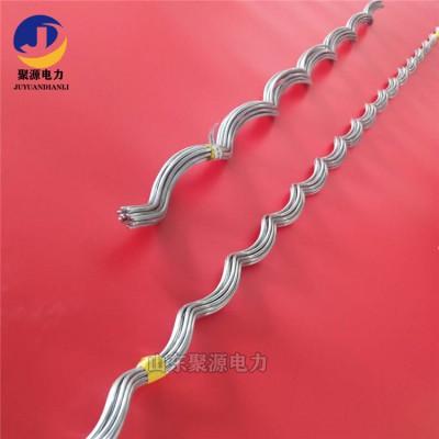 电力金具铝合金丝护线条防震锤护线条