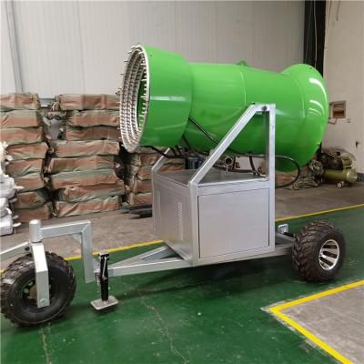 大型人工造雪机液压遥控系统 冰雪乐园设备 出雪充足国产造雪机