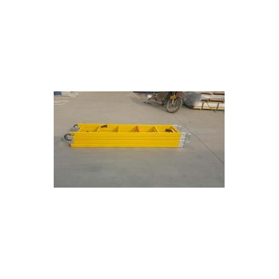 恒龙-高空作业检修梯玻璃钢绝缘出线平梯电工安全绝缘挂梯