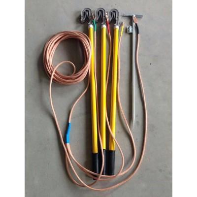 10kv高压 接地线 铁路接触网 双舌挂钩式接地线种齐全