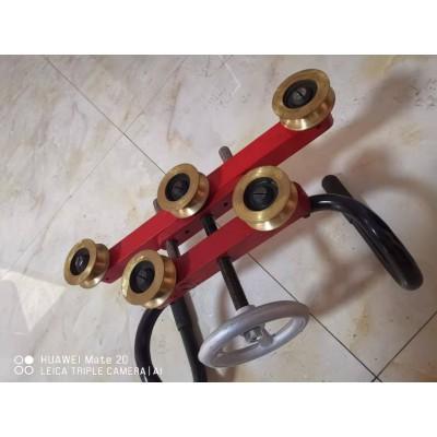 恒龙 五轮校直器 接触线校直器  五轮电车线矫正机