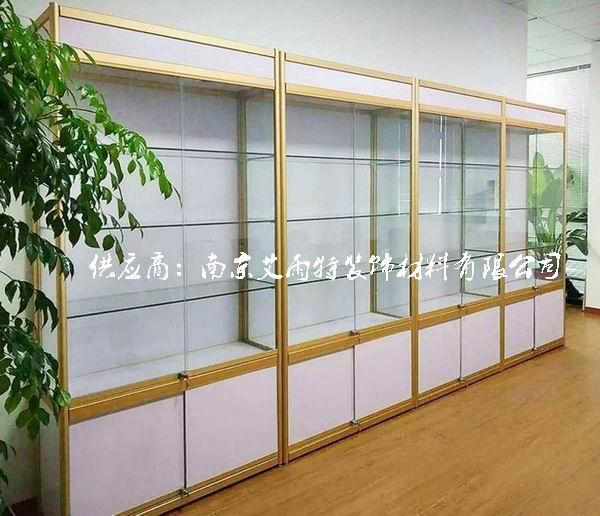 南京钛合金模型展柜
