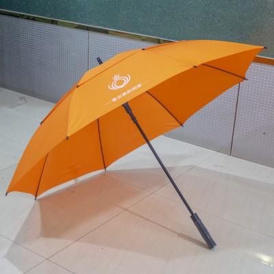 30寸真双层直杆纤维广告伞创意伞酒店商务礼品伞广告伞