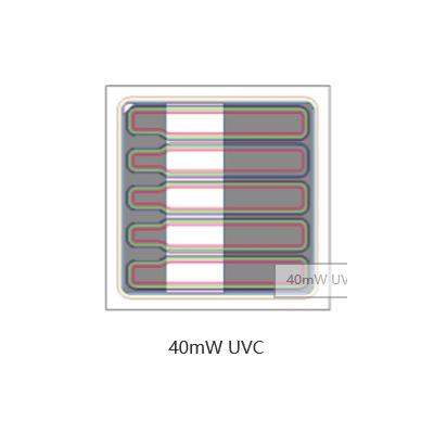 UVC芯片光效高>40mW30*30mil韩国PW牌