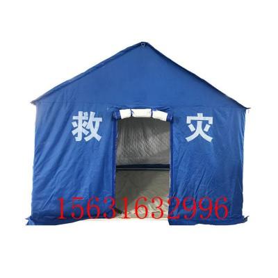 民政救灾帐篷12平方应急帐篷3*4m救灾棉帐篷户外活动帐篷
