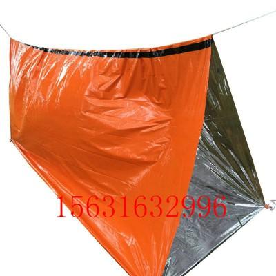 三角铝膜帐篷户外应急睡袋野外求生生存保温毯镀铝膜睡袋