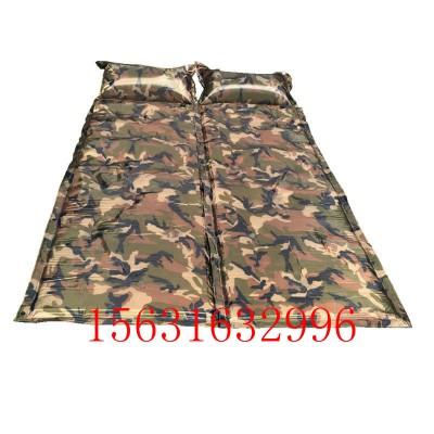 单人可拼接防潮垫可拼接露营防潮睡垫9点式可拼接充气床垫