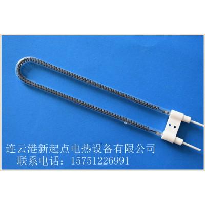 U型石英碳纤维丝石英红外线发热灯管的定制厂家