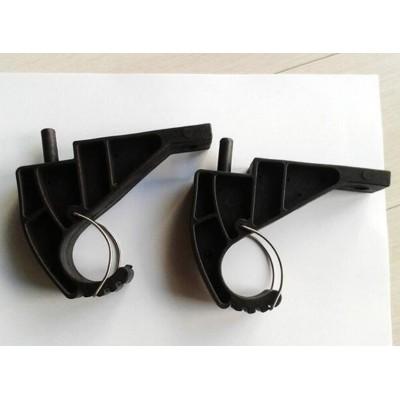 铁路电缆支架隧道电缆专用塑包钢挂架双层三层电缆固定挂钩