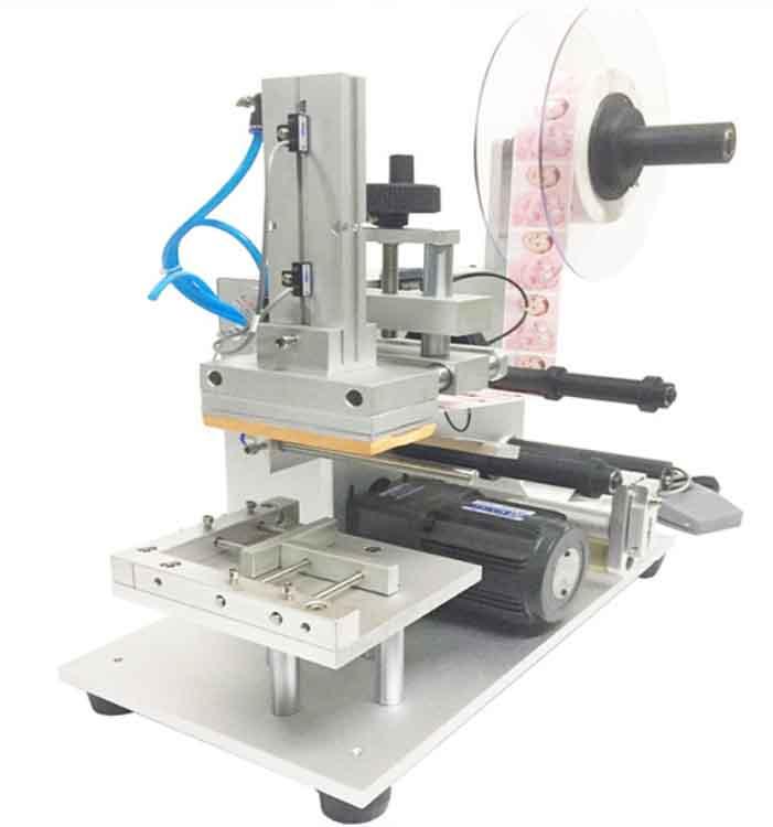 不干胶平面贴标机介绍,半自动平面贴标机厂家,价格及图片参数