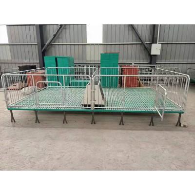 猪用产床保育床 双面保育床 保育栏热镀锌围栏