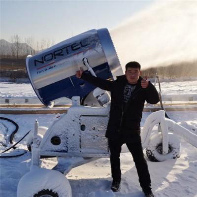 造雪机喷嘴可控制造雪量 河南造雪机系统智能