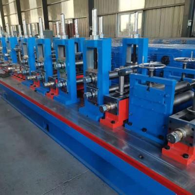 河南高频焊管机方管生产线
