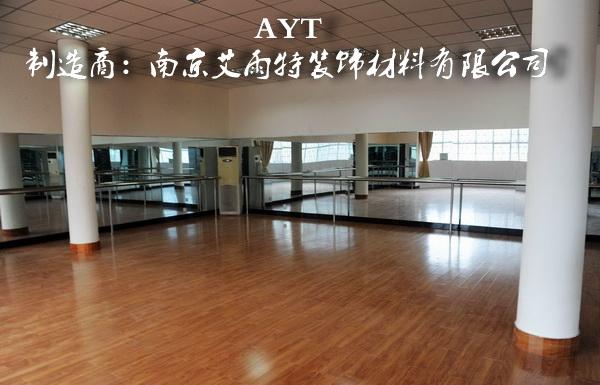 文化艺术中心镜子定做、舞蹈中心镜子安装