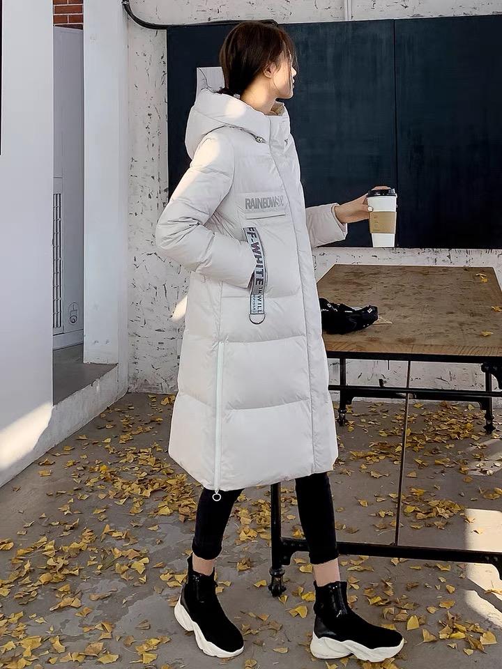 冬季时尚女装 防寒服 雪中奥羽绒服 品牌女装尾货批发