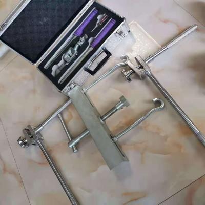 十字型调直器铁路接触线拧面器 十字扭面器扭力扳手铜线正面器